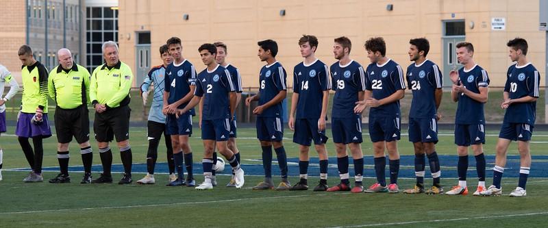 SHS Boys soccer vs Cherry Hill West Senior Night