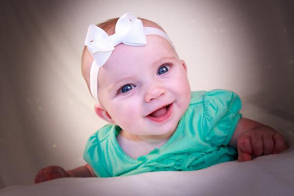 Baby Mariah 4 mos