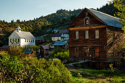 Ghost Towns of Nevada, Arizona, Texas, Idaho and Washington