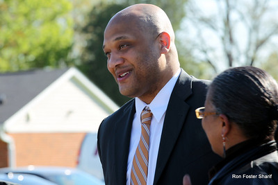 Press Conference at Laurelwood: Congressman Andre Carson
