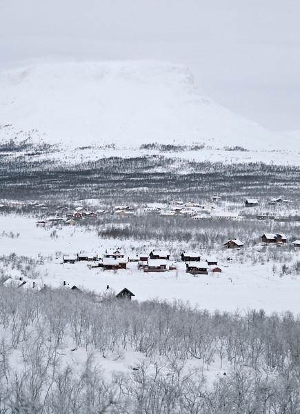 Kilpisjärvi and Saana