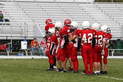 Boys Middle School Football - 2009-2010 - 10/21/2009 Ludington