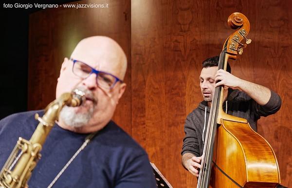 MICHAEL ROSEN LUIGI TESSAROLLO QUARTET feat. ROBERTO GATTO - 2 dicembre 2017, Teatro Silvio Pellico, Bagnolo Piemonte