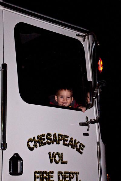 2010 Fire Truck Santa