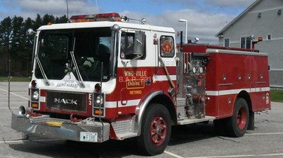 Who Ville N.H.Fire-Brigade Engine 1  May 11 2019