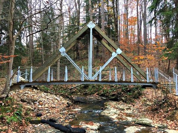 The Eclipse Bridge at Buttemilk Falls