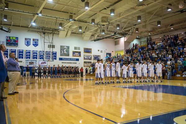 2013 ERHS Varsity Boys at Spotswood