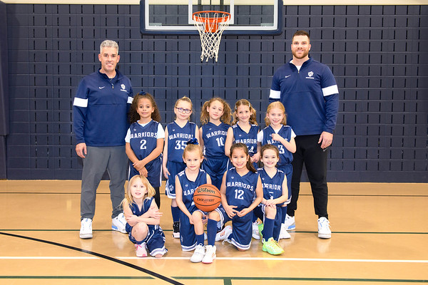 1st Grade Girls Basketball