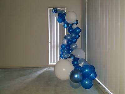 Balloon Organic Garlands