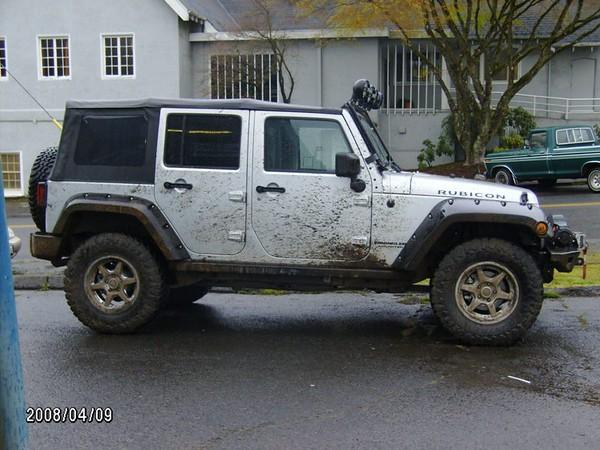 Twilight Jeep