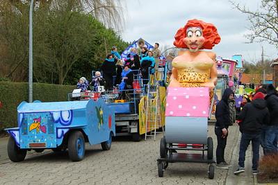 Carnavalstoet Steendorp 2016 - Deel 1