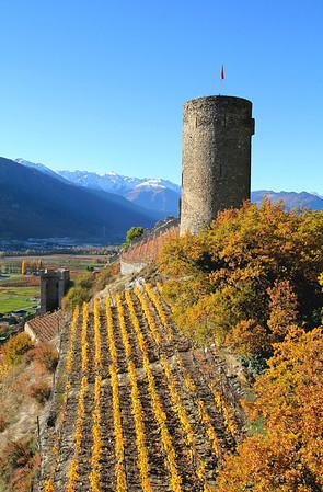 Vallée du Rhône-Ovronnaz-Crans Montana