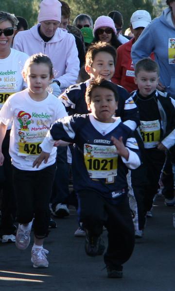 Keebler Kids Marathon Mile 2008