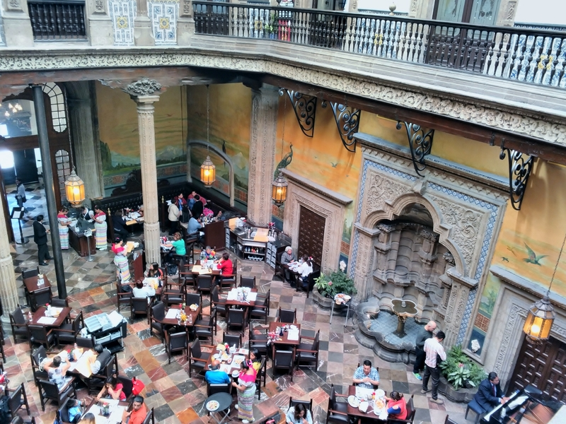 azul historico - one of the best restaurants in mexico city