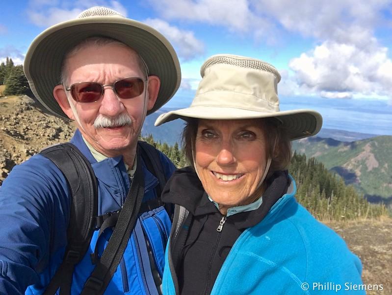 Selfie on Hurricane Ridge