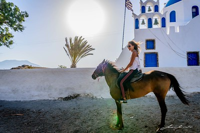 Horse Riding in Santorini