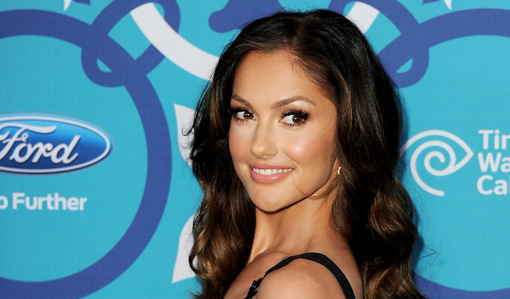. Actress Minka Kelly arrives at the Fox Fall Eco-Casino Party at The Bungalow on September 9, 2013 in Santa Monica, California.  (Photo by Kevin Winter/Getty Images)