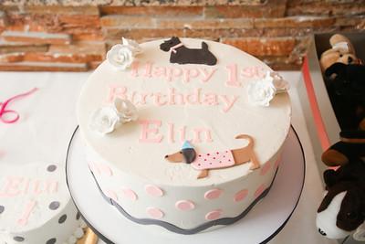 Natalie Thigpen - Elin 1st Birthday