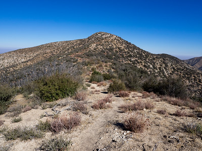 Bare Mountain and Mount Hillyer - Angeles National Forest  11-1-2017