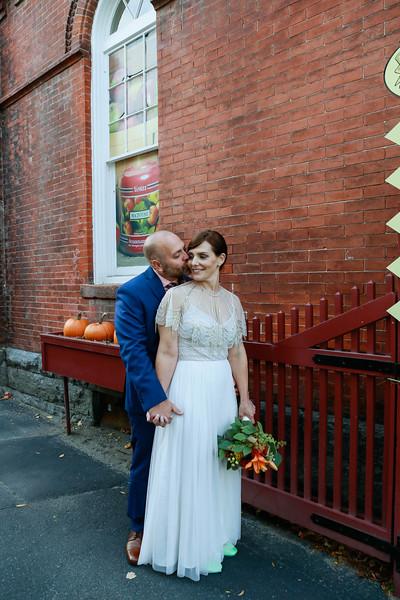 Amber & Chris' Red Lion Inn Wedding