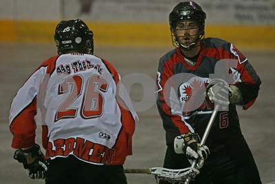 7/22/2011 - Brooklin Redmen vs. Ajax-Pickering Rock - Ajax Community Centre - Ajax, ON