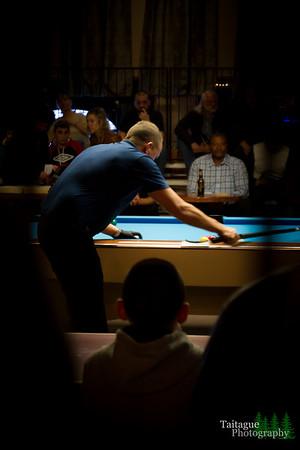Shane Van Boening  at CueTopia pool hall