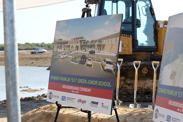 "Edward ""E.F."" Green Junior School Groundbreaking Ceremony"