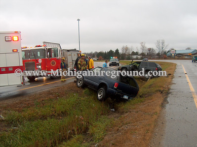 11/21/07 - Lansing P.I. accident, I-96 entrance ramp off Pennsylvania