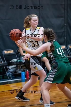 Nauset G JV Basketball v DY 1_10_20