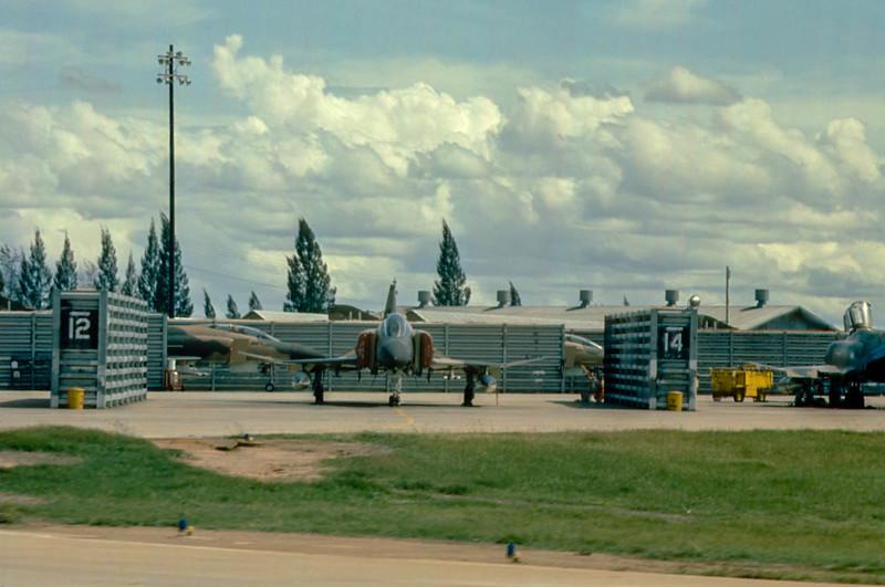 F-4 at Korat RTAFB, Thailand, 1974