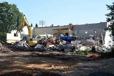 Andrews FieldHouse Demolish 06-29-19