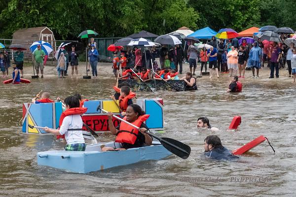 Cardboard Boat Regatta 6/3/18
