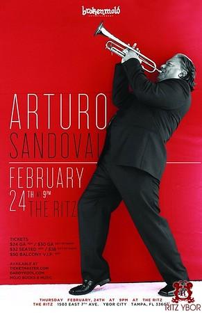 Arturo Sandoval February 24, 2011