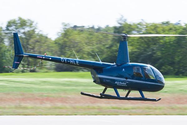 OY-HLE - Robinson R44 Clipper II