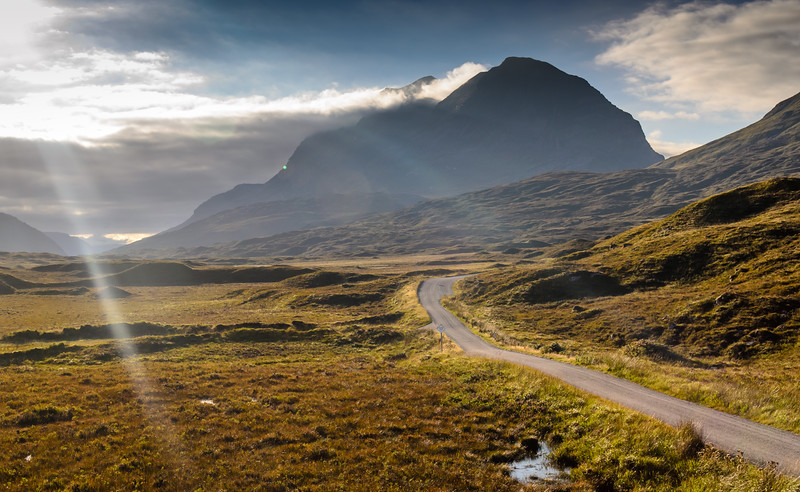 #Liathach mountain over Glen #Torridon