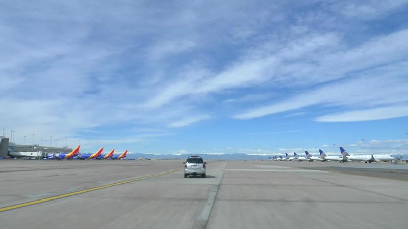 Airfield b-roll