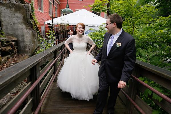 Katrina & Brad's Intimate Alvah Stone Wedding