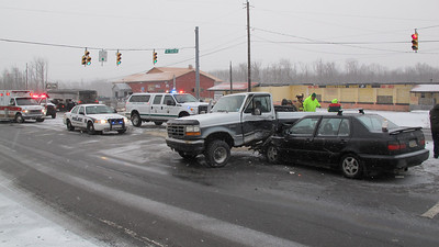Two Vehicle Accident, SR309, Tide Road, Hometown (3-26-2014)