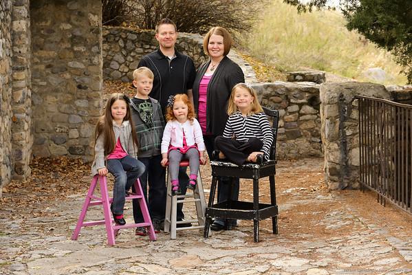 Craig Thompson Family 2013