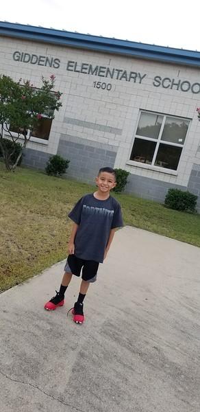 Aaron | 3rd grade | Giddens