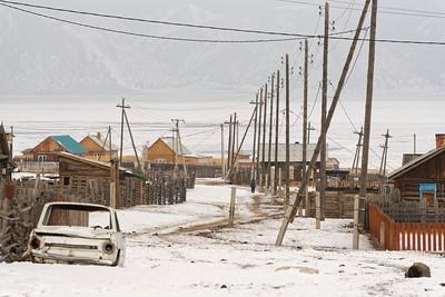 Uzuri - Baikal crossing - Ust Barguzin