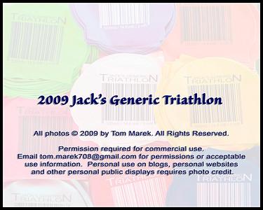 2009 Jack's Generic Triathlon