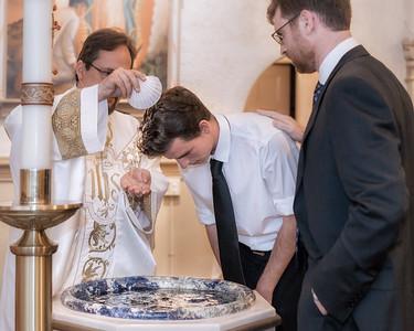 2017 Sacred Heart Baptisms