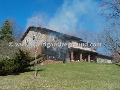 4/17/09 - Mason house fire, 927 Rolfe Rd