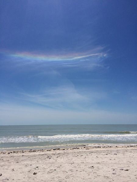 Cirrus cloud iridescence