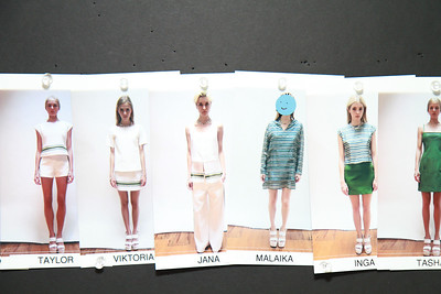 Odilon Backstage & Presentation NYFW SS 2012