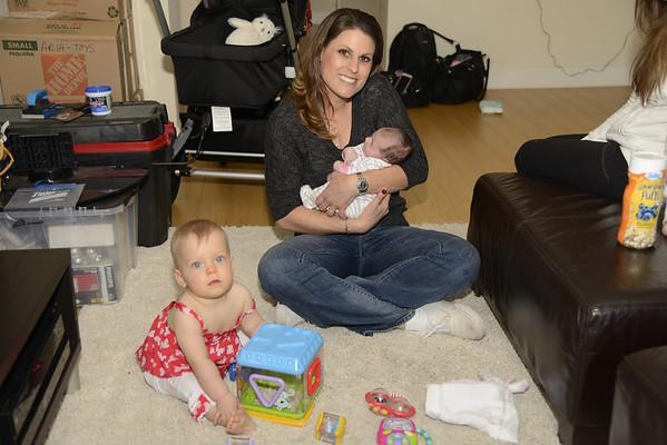 Auntie Jenny & Katie Visit
