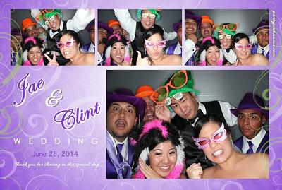 Jae & Clint's Wedding (Luxury Photo Pod)