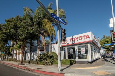 Santa Monica Toyota Dealership photos December 2020