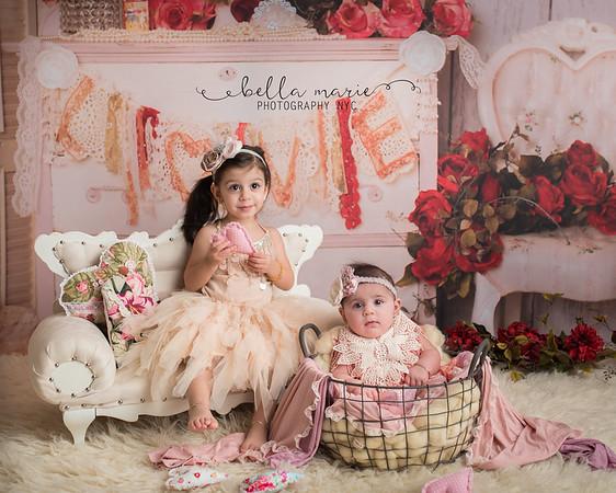Sisters Valentine's Mini Session